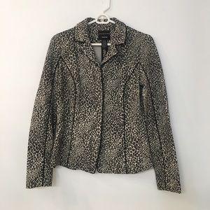 Doncaster Cheetah Print Jacket Size 4